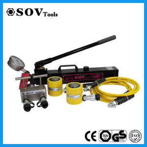 Single Acting 30 Ton Low Height Hydraulic RAM Cylinder pictures & photos