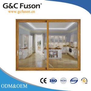 Double Glazing Aluminum Thermal Break Sliding Door pictures & photos