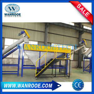 High Capacity Plastic Pet Bottle Flakes Recycling and Washing Line pictures & photos