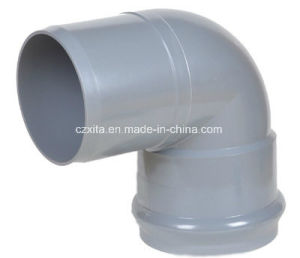 PVC Faucet 90 Deg Elbow with Rubber Ring pictures & photos