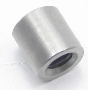 CNC Machine Stainless Steel Threaded Insert Round Nut pictures & photos