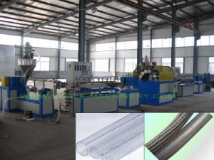 Fibre Reinforced PVC Hose Extrusion Line pictures & photos
