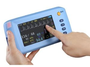 2015 Promotion! ! Touch Screen Handheld Patient Monitor (RPM-8000B) -Fanny pictures & photos