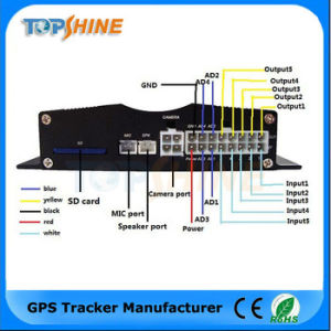Vehicle GPS Tracker with Fuel Sensor Camera Obdii Alcohol Sensor pictures & photos