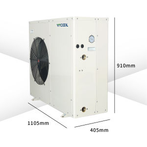 Air Source Water Heater Heat Pump Evi for Floor Heating, Air Conditioning pictures & photos