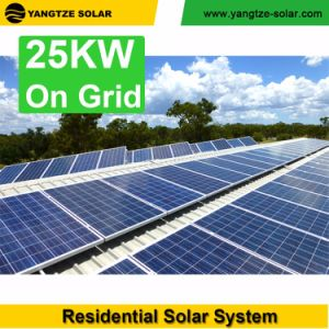 Easy Installation 10 Years Warranty 5kw 10kw 15kw 20kw 25kw Solar System with Battery Backup pictures & photos