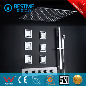 High Quality Brass Concealed Shower Set with LED Lights (BF-60104) pictures & photos