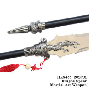 Martial Art Red-Tasselled Spear 202cm HK8455 pictures & photos