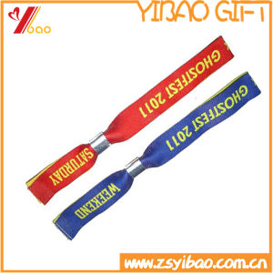 Custom Festival Fabric Wristbands for Events (YB-LY-WR-17) pictures & photos