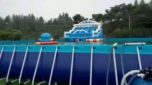 Bracket Frame PVC Swimming Pool, Intex Metal Frame Pool pictures & photos