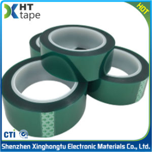 Green Pet Adhesive Tape High Temperature Resistant Tape pictures & photos