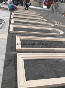 Portugal Moca Beige Wooden Limestone Marble for Tile and Step pictures & photos