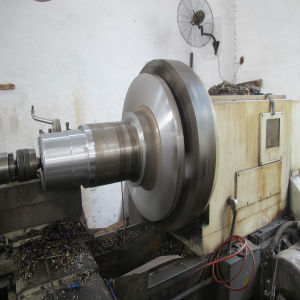 SAE4140 Wind Steel Forged Shaft Die Forged Rolled pictures & photos