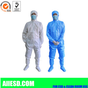 100d ESD Garments Antistatic Clothing for Cleanroom Working pictures & photos