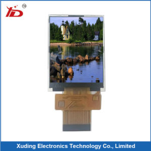 Cog Customeried LCD Panel Display with White Background Black Segments pictures & photos