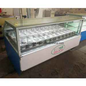 2018 Ice Cream Display Shwocase for Sale B21 pictures & photos