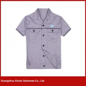 Custom Made Short Sleeve Work Apparel for Summer (W267) pictures & photos
