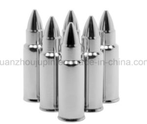 OEM Reusable Stainless Steel Bullet Shape Whiskey Stones Ice Cube pictures & photos