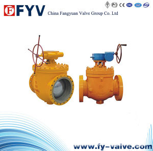 API 6D Forged/Cast Steel Top Entry Trunnion Ball Valve pictures & photos