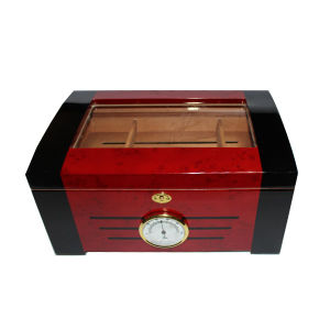 Clear Window Wooden Cigar Humidor pictures & photos