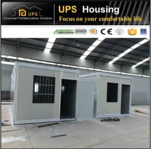 Double Floor Prefabricated Living Container Houses with with Windows and Doors pictures & photos
