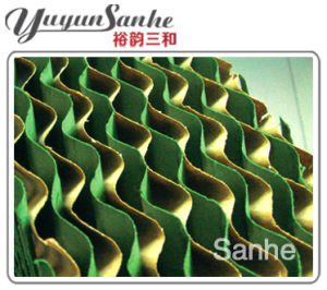 Wet Curtain/Evaporative Cooling Pad for Green House, Green House, Workshop pictures & photos