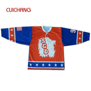 Custom Digital Printing Ice Hockey Jersey