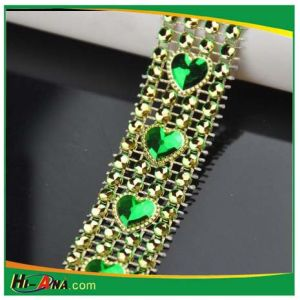 Rhinestone Chain Trims for Wedding Dress pictures & photos