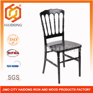 Over 500kgs, Black Polycarbonate Resin Napoleon Chairs pictures & photos