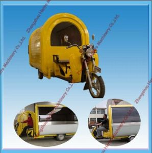 High Quality Mobile Fast Food Vending Cart Trailer Truck pictures & photos