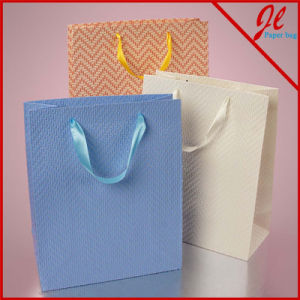 Chevron Embossed Euro Totes pictures & photos