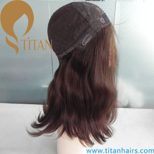 22inch 6# Lace Front Wig Jewish Wig pictures & photos