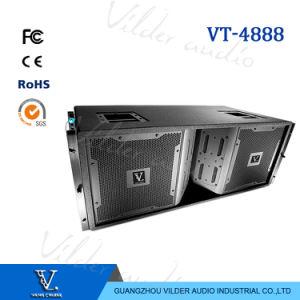 Vt4888 Full Range Hot Sale 3-Way Double 12′′ Woofer Line Array pictures & photos