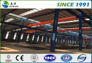 Two Storey Prefabricated Steel Structure Building for Warehouse pictures & photos