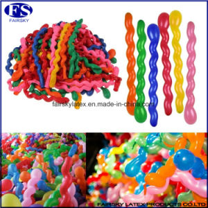 High Quality Spiral Balloon, Latex Balloon for Parity-ISO Factory pictures & photos