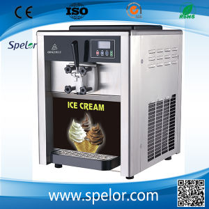 One Handle Soft Ice Cream Making Machine /Bql-118 pictures & photos