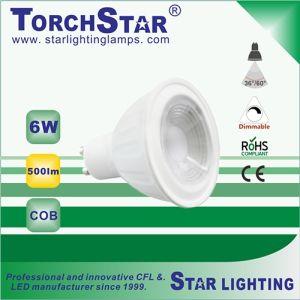 3000k 20000hrs Lifetime 6W COB LED Spot Light for Decoration Lamp pictures & photos