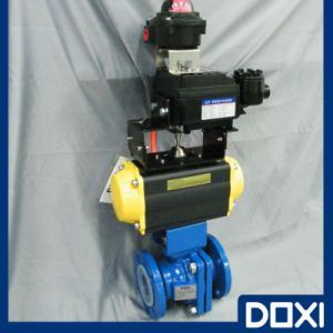 PFA Full Bore Floating Ball Valve pictures & photos