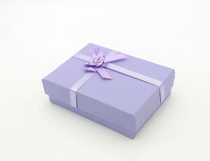 2015 New Purple Gift Box with High Quality and Lower Price
