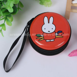 Delicate Exqusite Round Metal Coin Wallet/ Wallet Tin Box pictures & photos