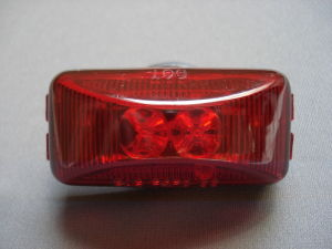 Truck Clearance Side Marker Submersible Light