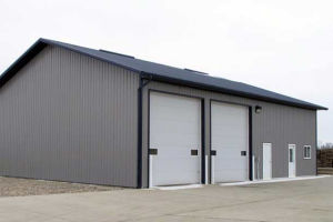 Prefabricated Steel Building Metal Warehouse Shed Steel Warehouse pictures & photos