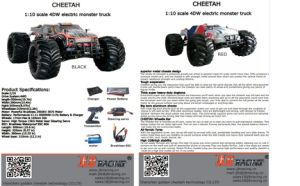 2.4G Hz High Speed RC Car with Batteries Power (1: 10) pictures & photos