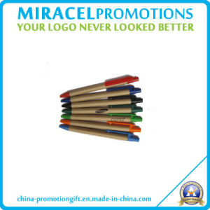 Recycled Paper Pen with Custom Logo Printed (NH0211)