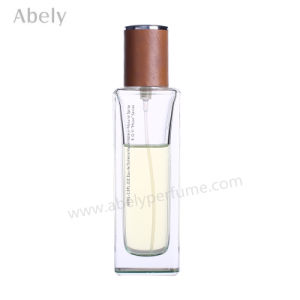 Great Selection Perfume Bottles with Leather Cap pictures & photos