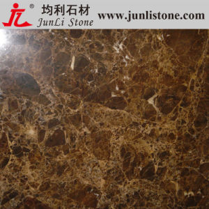 Polished Spanish Dark Emperador Marble for Flooring, Tile, Slab