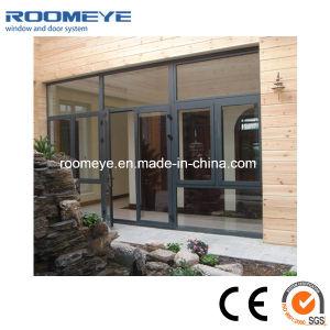 Casement/Swing Aluminium Door Customized High-End Design pictures & photos