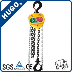 Best Quality Building Block HS-Vn Hoist Chain Block Made in China pictures & photos