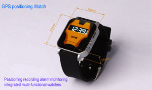 GPS GSM GPRS Tracker Watch Double Locate Remote Monitor Sos for Child Kids Old