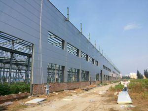 Construction Material Corrugated Sheet Insulated PU Wall Sandwich Panel pictures & photos
